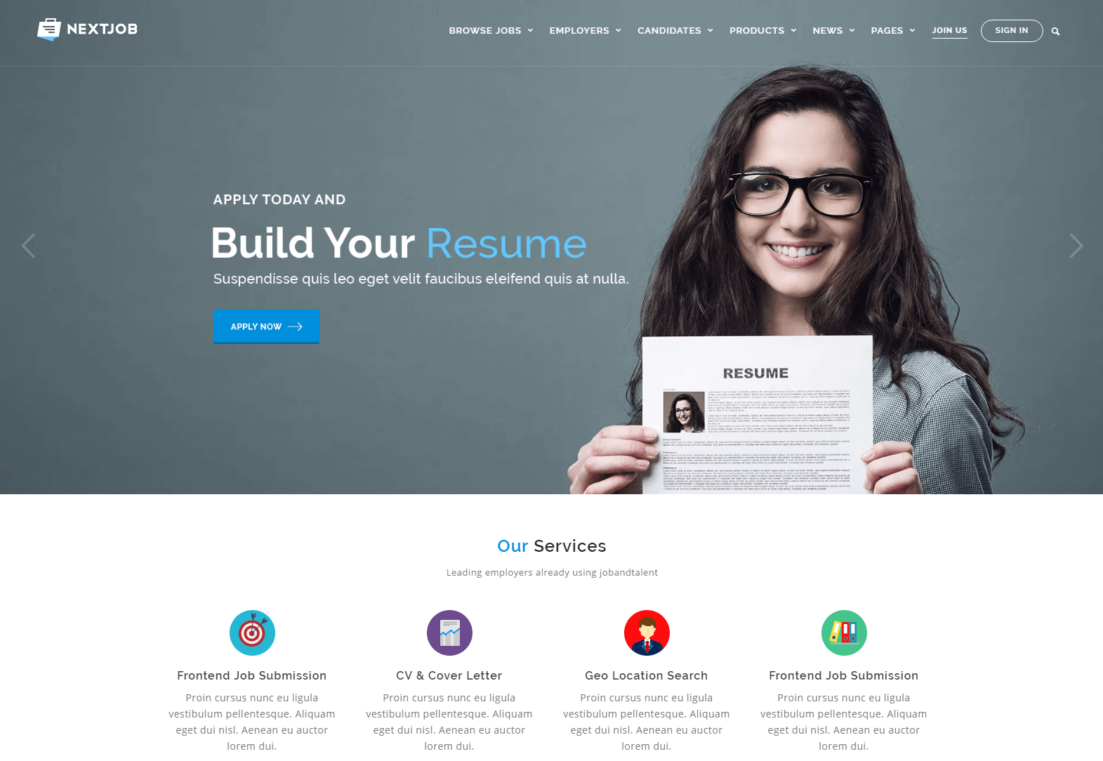 Job Career - Job Marketplace WordPress Theme