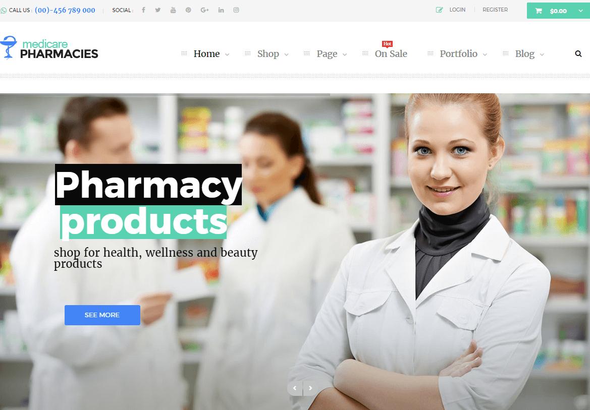 Medicare WordPress Theme