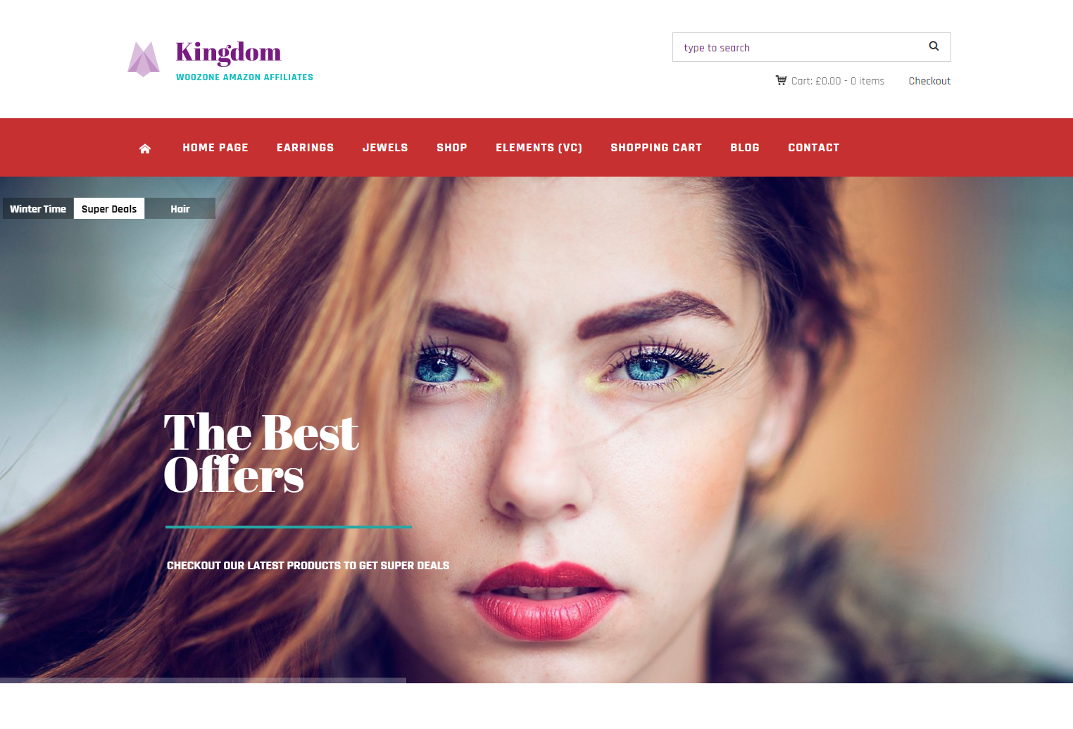 Kingdom - WooCommerce Amazon WordPress Theme