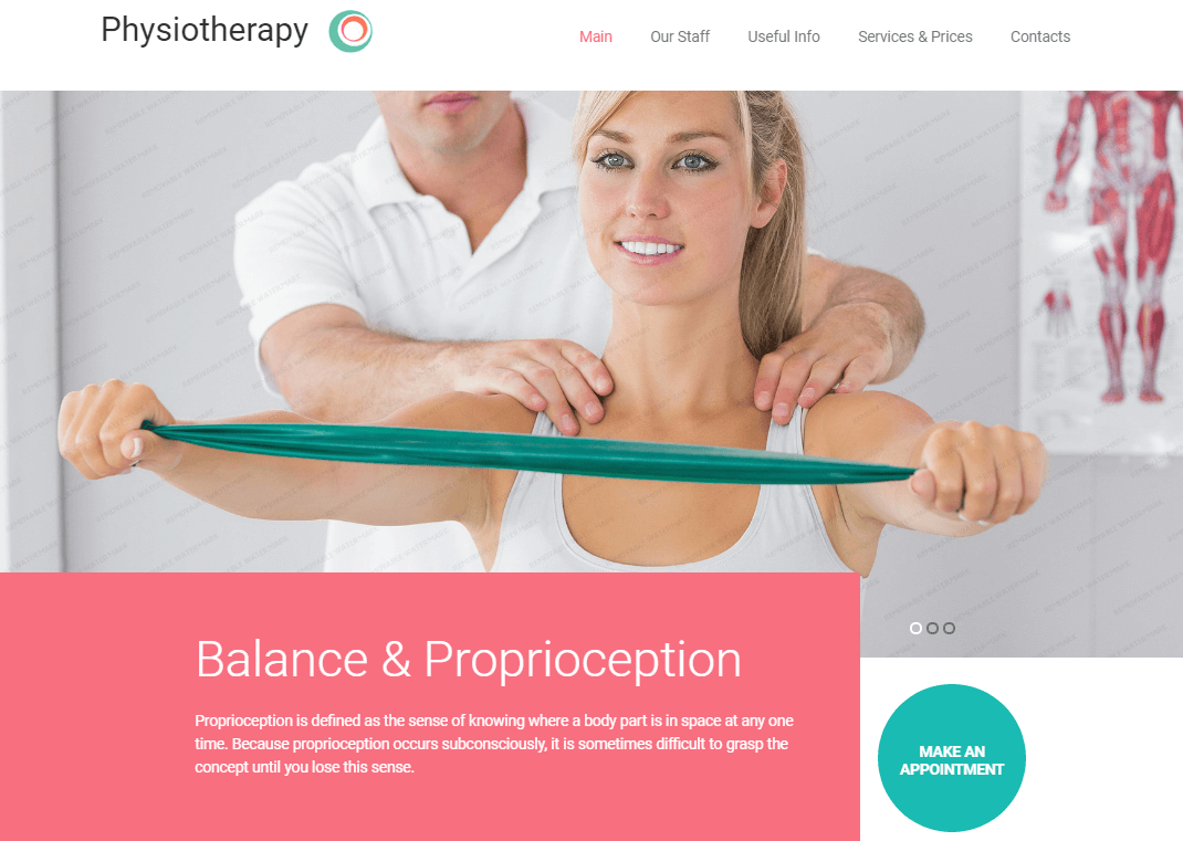Health Care & Physiotherapy WordPress Theme